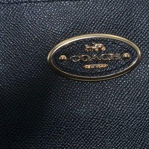 Coach Bags - COACH Kitt Carryall Black & Gold **AUTHENTIC**